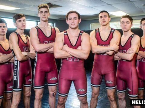 Academy Wrestling boys